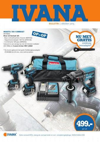 Verbazingwekkend Ivana Bulletin oktober 2015 (Gunters en Meuser) by Ivana - issuu UO-21