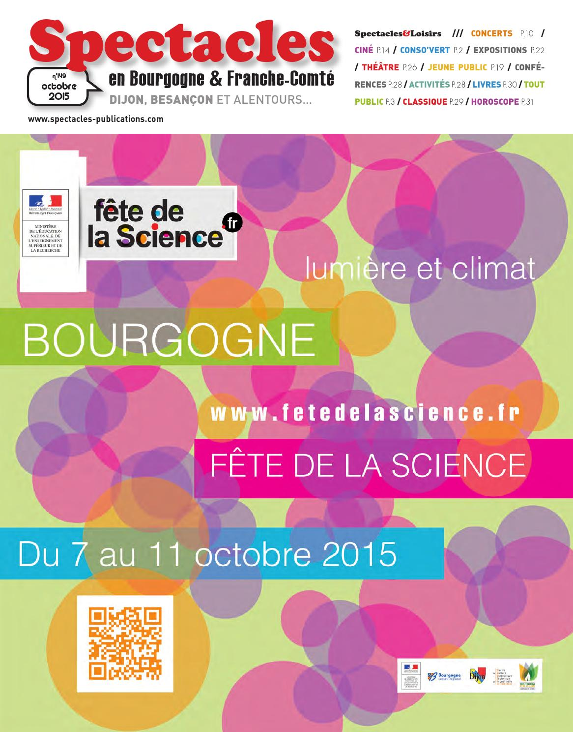 a325f2820bd0 Spectacles Publications Dijon n°149   Octobre 2015 by SPECTACLES  PUBLICATIONS - issuu