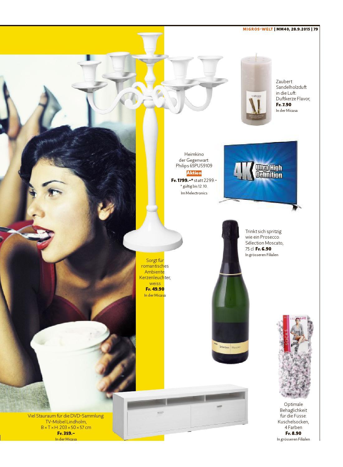 Migros Magazin 40 2015 D Zh By Migros Genossenschafts Bund Issuu