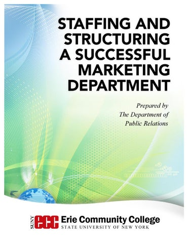 Marketing Restructuring Proposal By Suny Erie Issuu