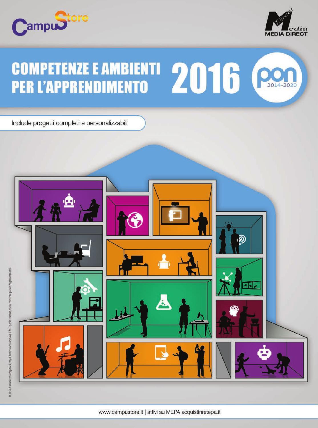 69b182b0ca Catalogo PON 2014-2020 - Competenze e ambienti per l'apprendimento by  CampuStore - issuu