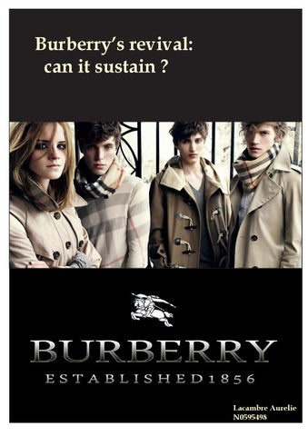 burberry case study solution