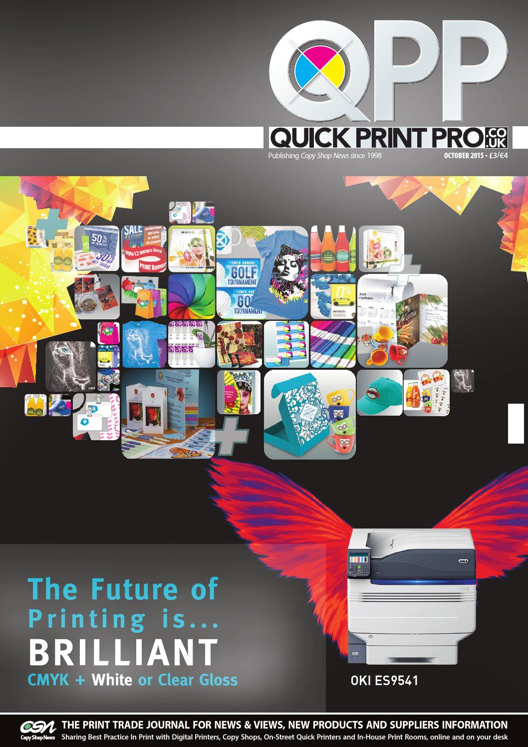 Quick print pro october 2015 by the magazine production company issuu fandeluxe Gallery