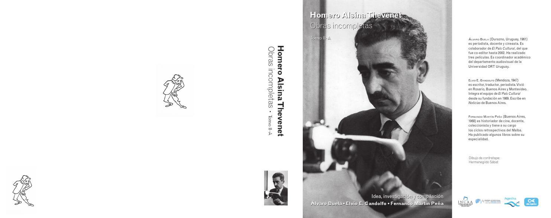Homero Alsina Thevenet Obras incompletas • Tomo II-A by Festival ...