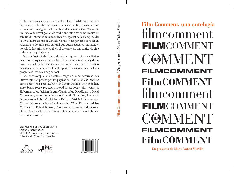 best service 2efd5 42d1b 29° Festival - Film Comment, una antología. Un proyecto de Manu Yáñez  Murillo by Festival Internacional de Cine de Mar del Plata - issuu