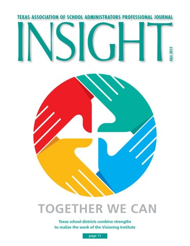 Insightfall 2015 by texas association of school administrators issuu page 1 texas association of fandeluxe Images