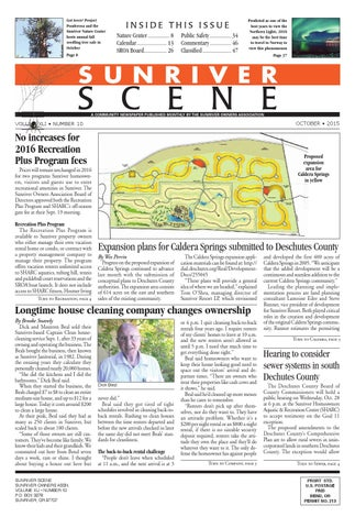 October 2015 Sunriver Scene By Sunriver Scene Issuu