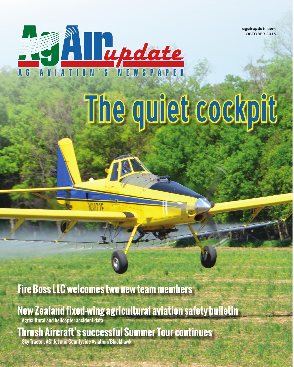 October 2015 - U S  Edition in English by AgAir Update - issuu
