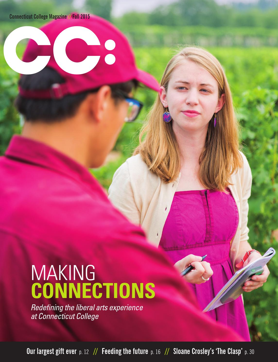 CC: Connecticut College Magazine Fall 2015 by Connecticut College ...