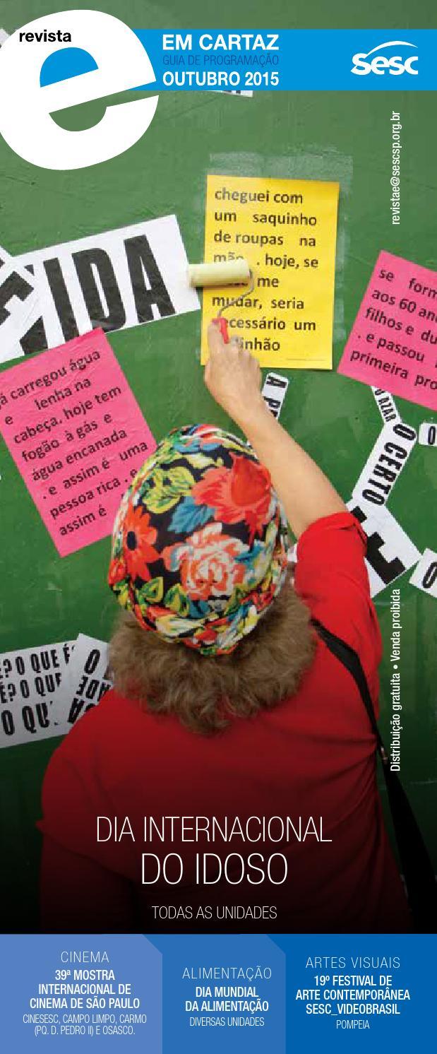 Revista Em Cartaz Outubro 2015 by Sesc em São Paulo - issuu 94bb8471676