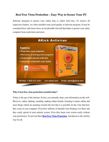free virus security software download