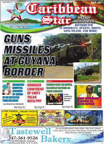 Caribbean star 61 vol 4 2015 by art15sign2pro issuu page 1 thecheapjerseys Images