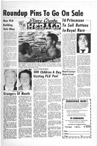 Pierce county herald v 23 no 24 jun 14, 1967 by Pacific