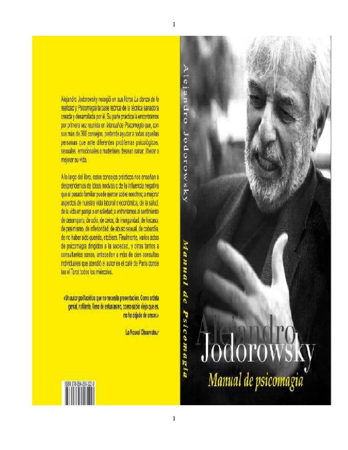 Alejandro jodorowsky psicomagia online dating