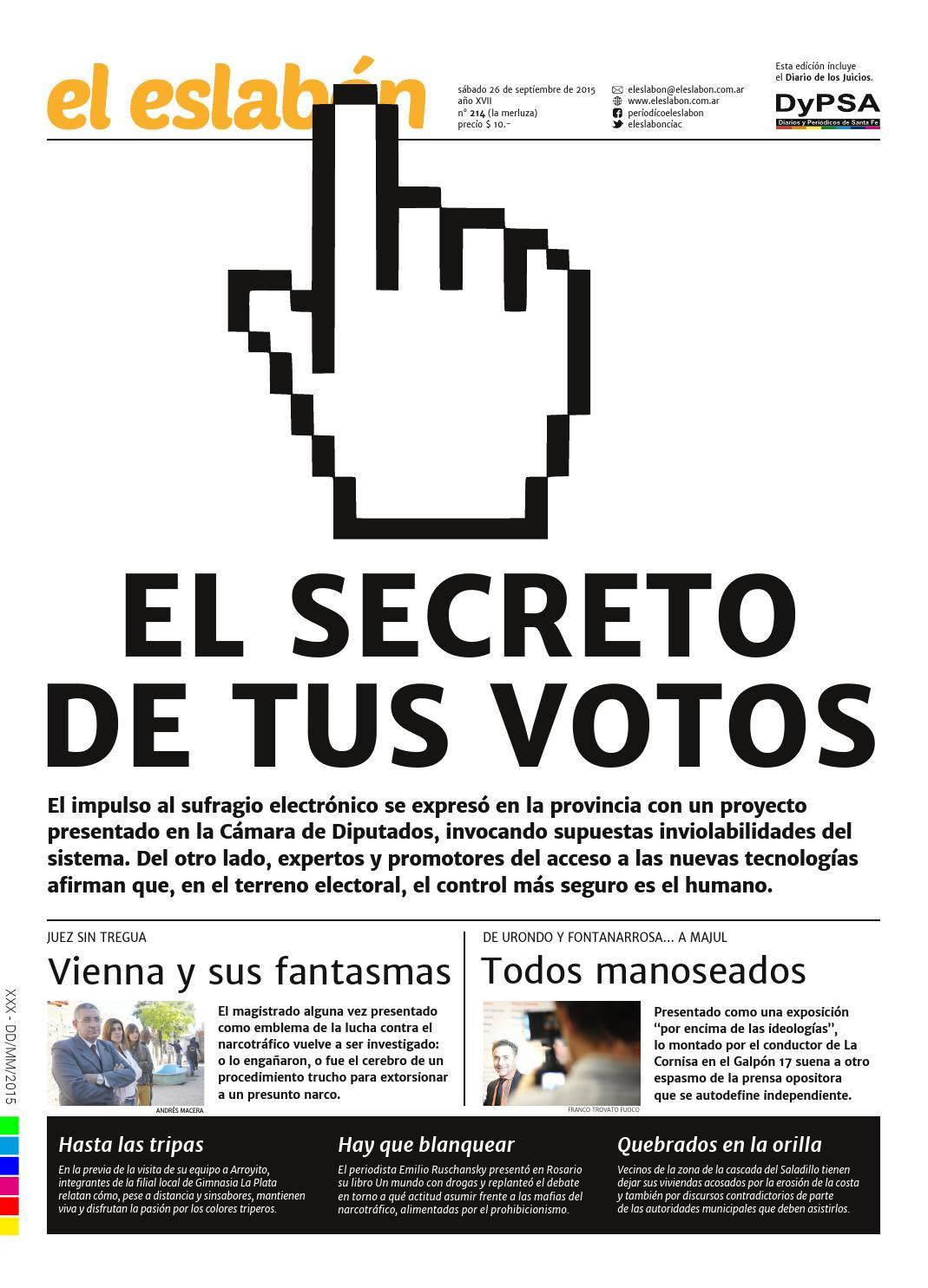 el eslabón 214 by El Eslabón de la Cadena Informativa - issuu