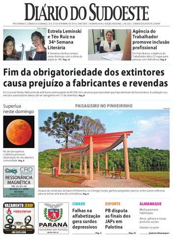 d45bb34eb Diário do sudoeste 26 e 27 de setembro de 2015 ed 6476 by Diário do ...