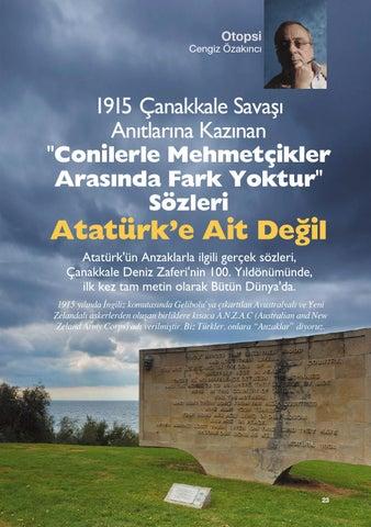 çanakkale Ve Atatürk Cengiz özakıncı Bölüm 1 By Lale Güvenc Issuu