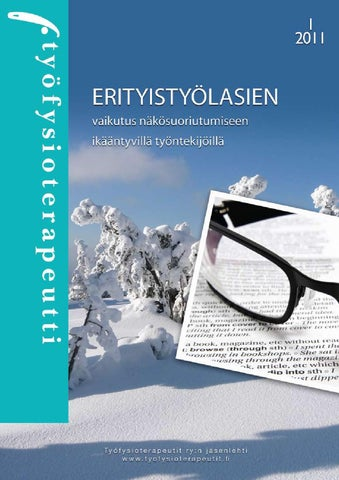 Työfysioterapeutti 1 2011 by Työfysioterapeutit ry - issuu 4eed8abe86