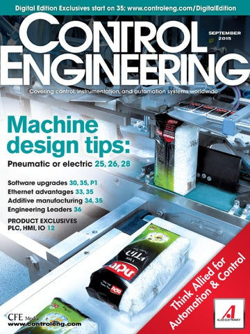 Control engineering september 2015 by Aso de Ingeniería Química - issuu