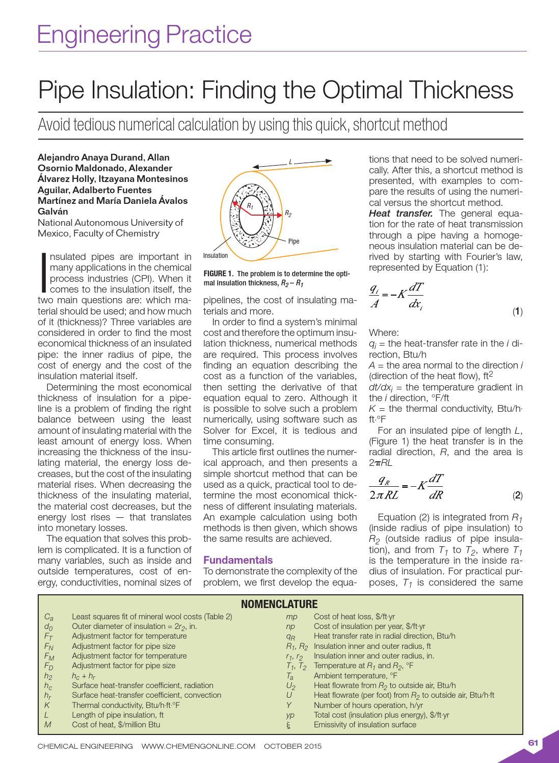 Chemical engineering october 2015 by Aso de Ingeniería
