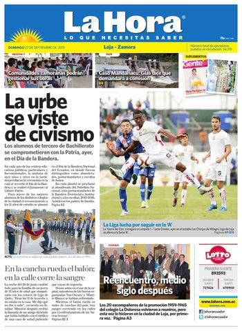 Diario La Hora Loja 27 de Septiembre 2015 by Diario La Hora Ecuador ... 4eb1eb6e31778