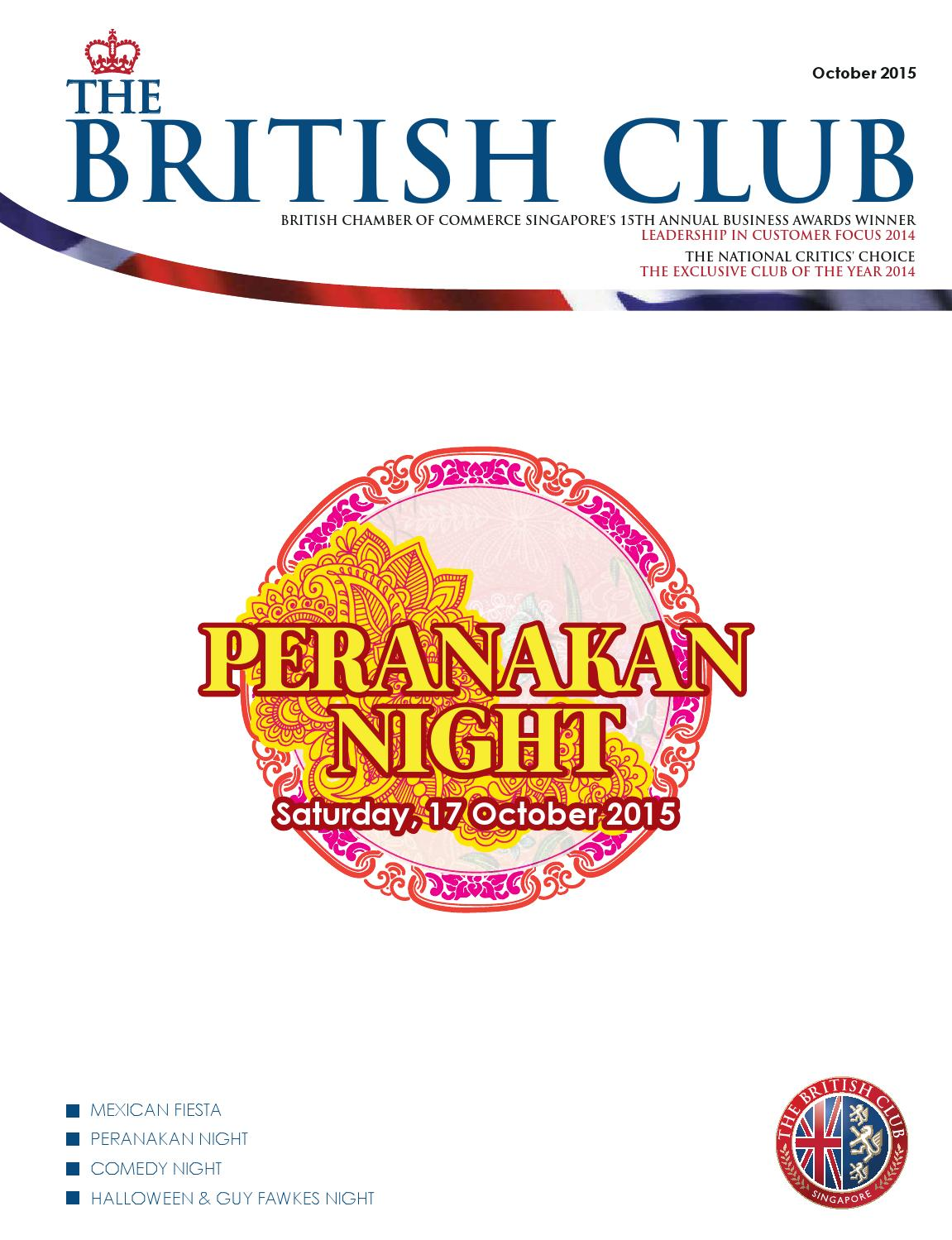 October 2015 by The British Club - issuu