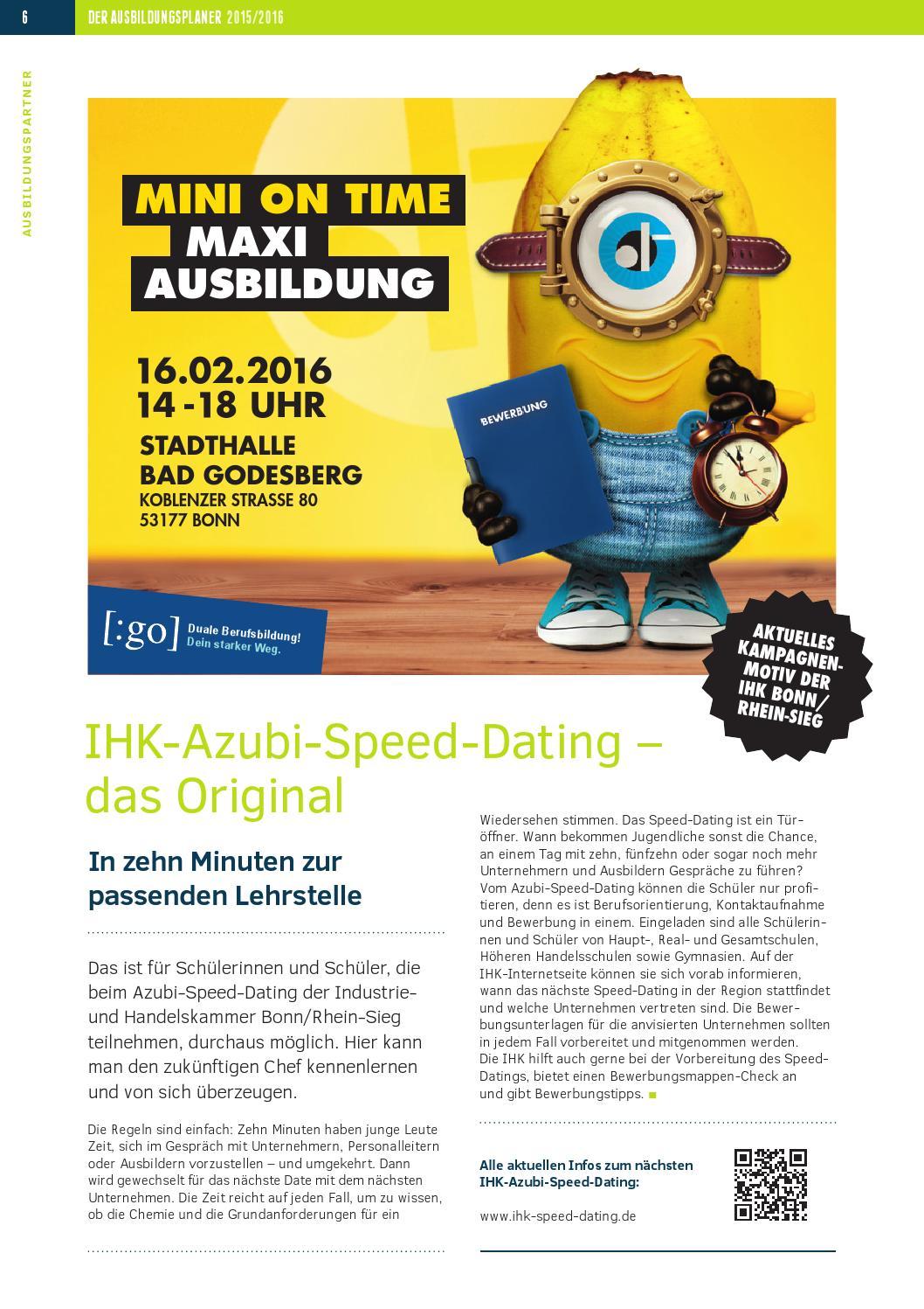 Azubi Speed Dating Handelskammer