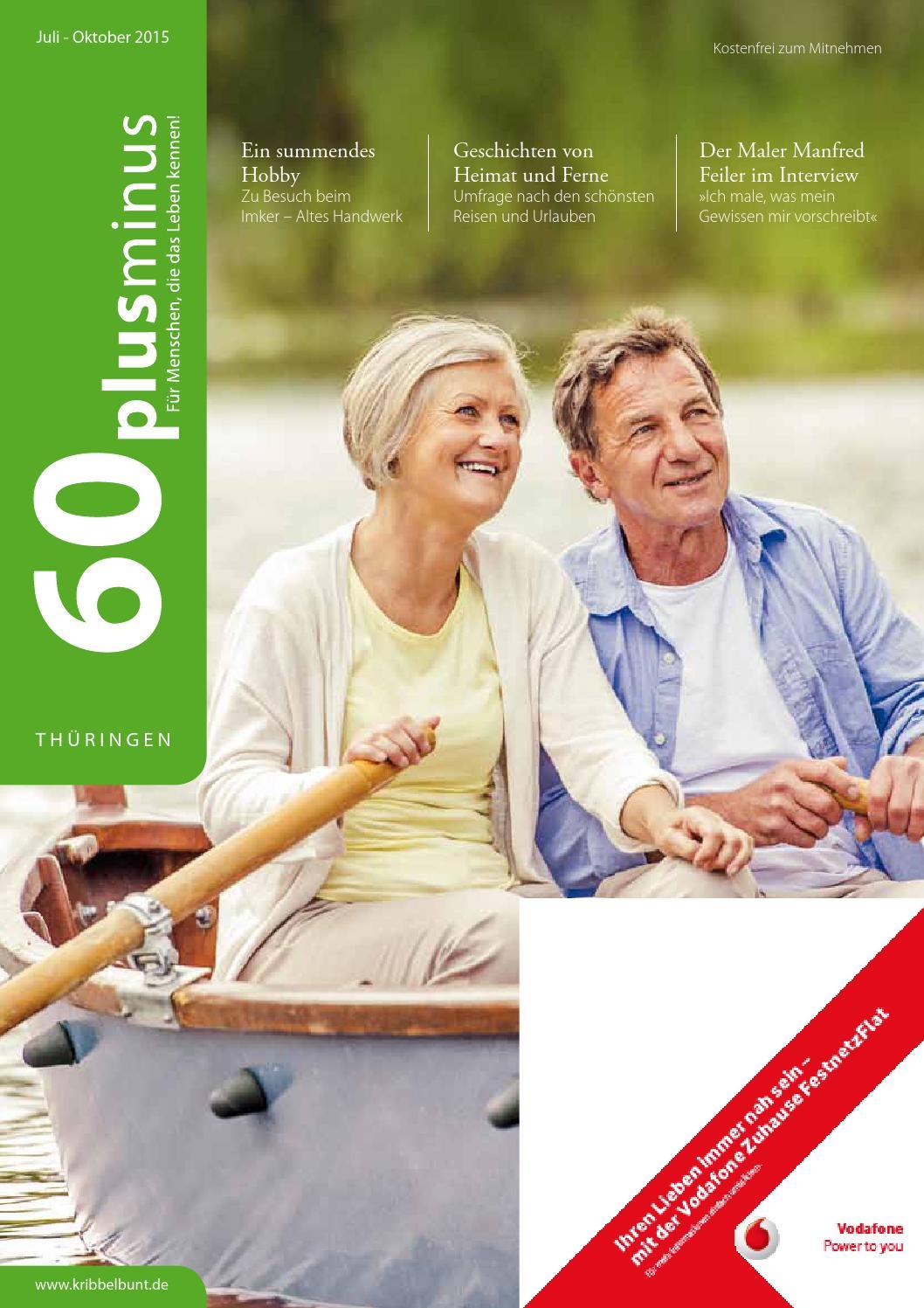 60plusminus Thuringen Ausgabe 2015 3 By Cala Verlag Gmbh