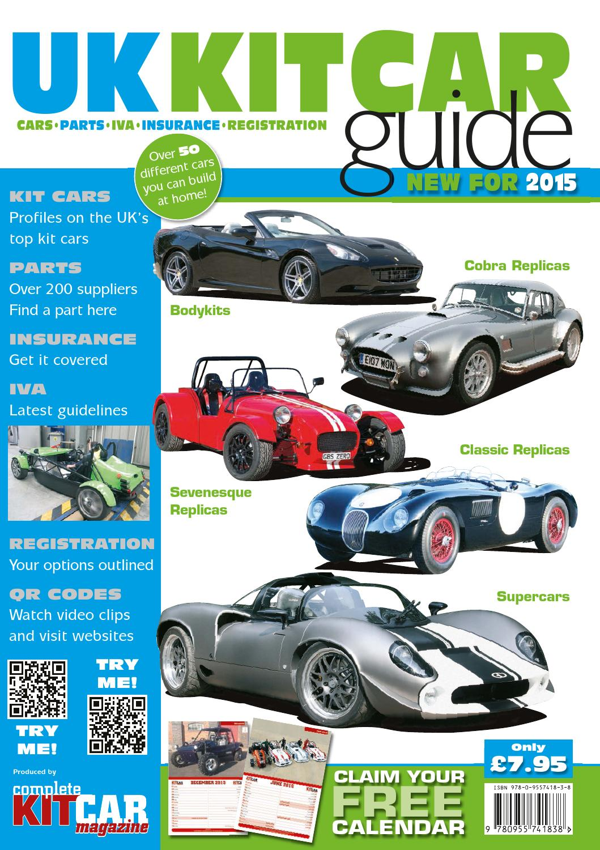 UK Kit Car Guide 2015 by Panda Creative Ltd - issuu