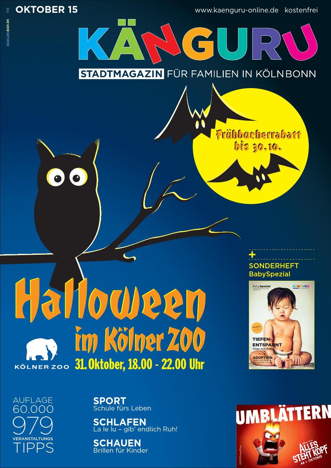 KÄNGURU Stadtmagazin für Familien in Köln Bonn Oktober 2015 by ...