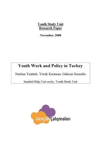 youth work essay