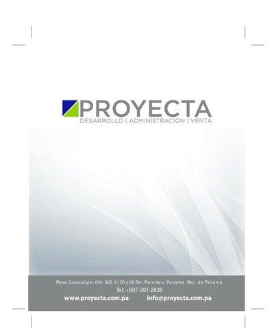 Proyecta Revista Digital Sep 28 Final Final By M Designs M