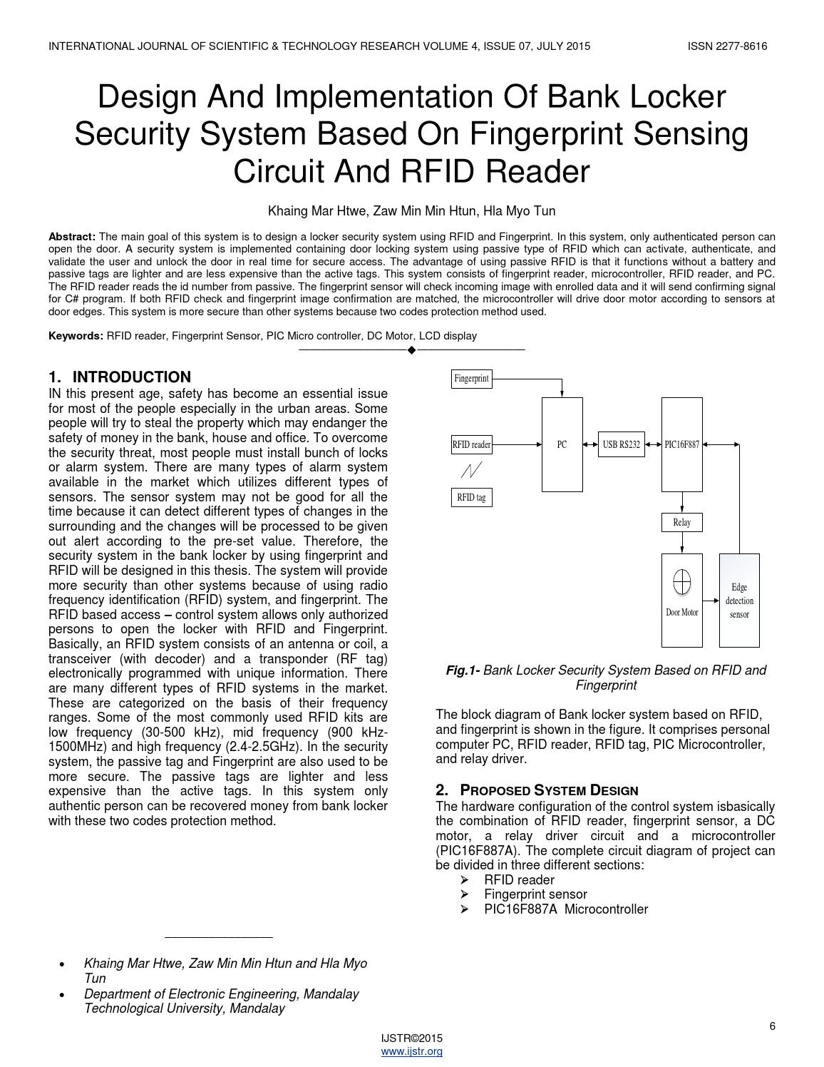 Design And Implementation Of Bank Locker Security System Based On - Circuit diagram of relay driver