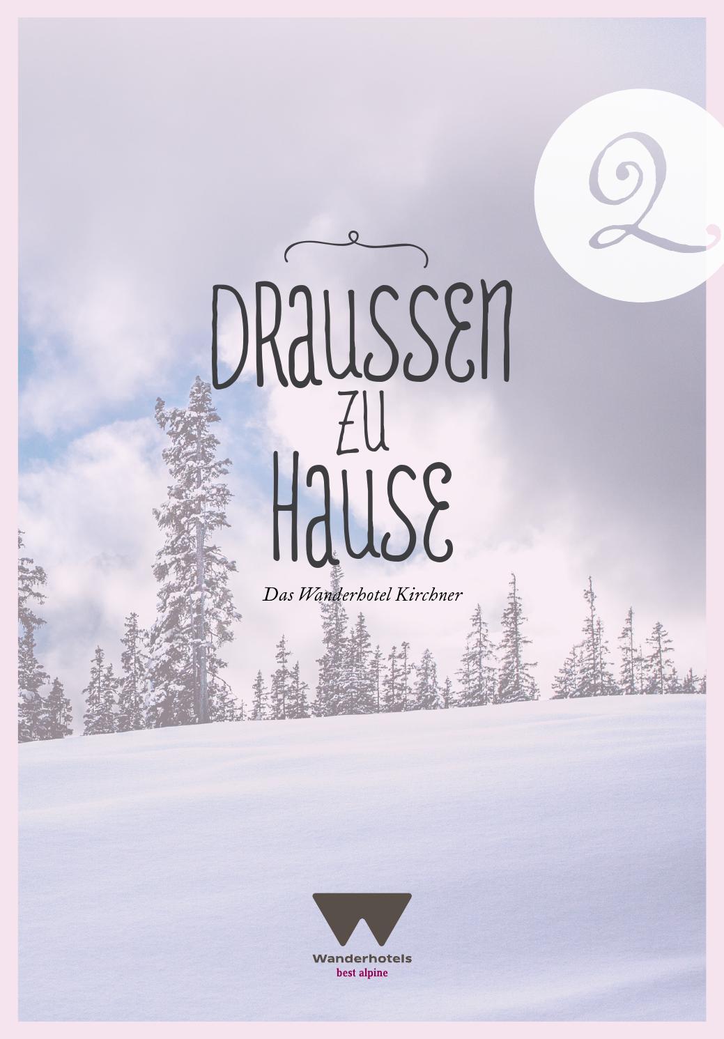 Draussen zu Hause by Hotel Kirchner GmbH & CoKG Issuu
