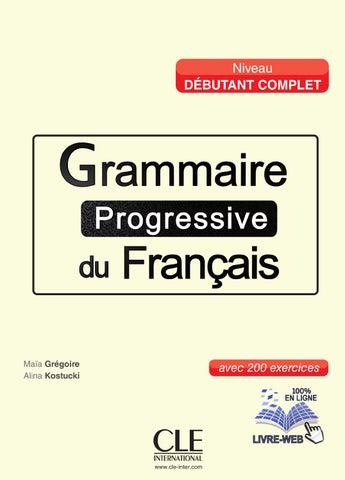 Grammaire En Dialogues Niveau Debutant Pdf