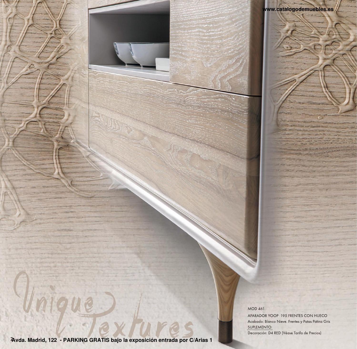 Cat logo de original mueble auxiliar salon y dormitorio - Novedades delicias ...