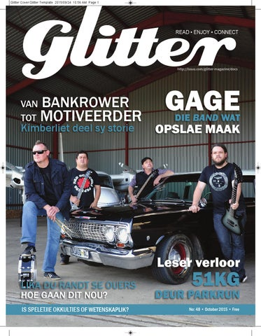 "Cover of ""Glitter october 2015"""
