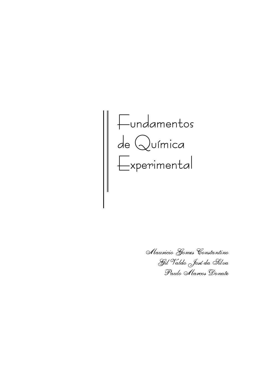 3a36a5b52 Fundamentos de quimica experimental by igor - issuu