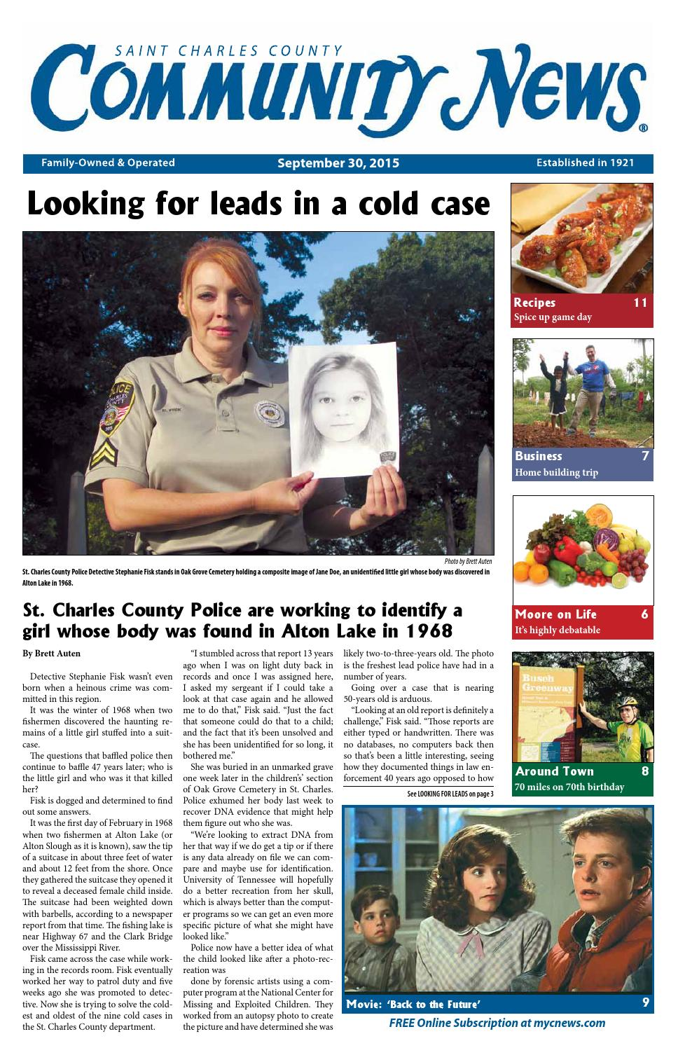 CNSTC: September 30, 2015 by Community News - issuu