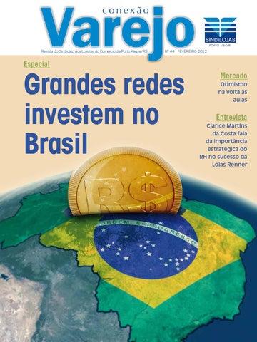 acf56d95b1 Conexão Varejo - Fevereiro 2012 by Sindilojas Porto Alegre - issuu