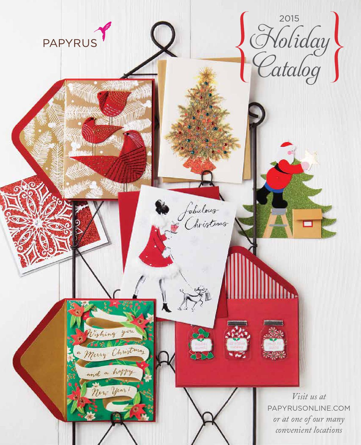 Papyrus 2015 holiday gifts custom printing guide by papyrus papyrus 2015 holiday gifts custom printing guide by papyrus retail issuu kristyandbryce Gallery