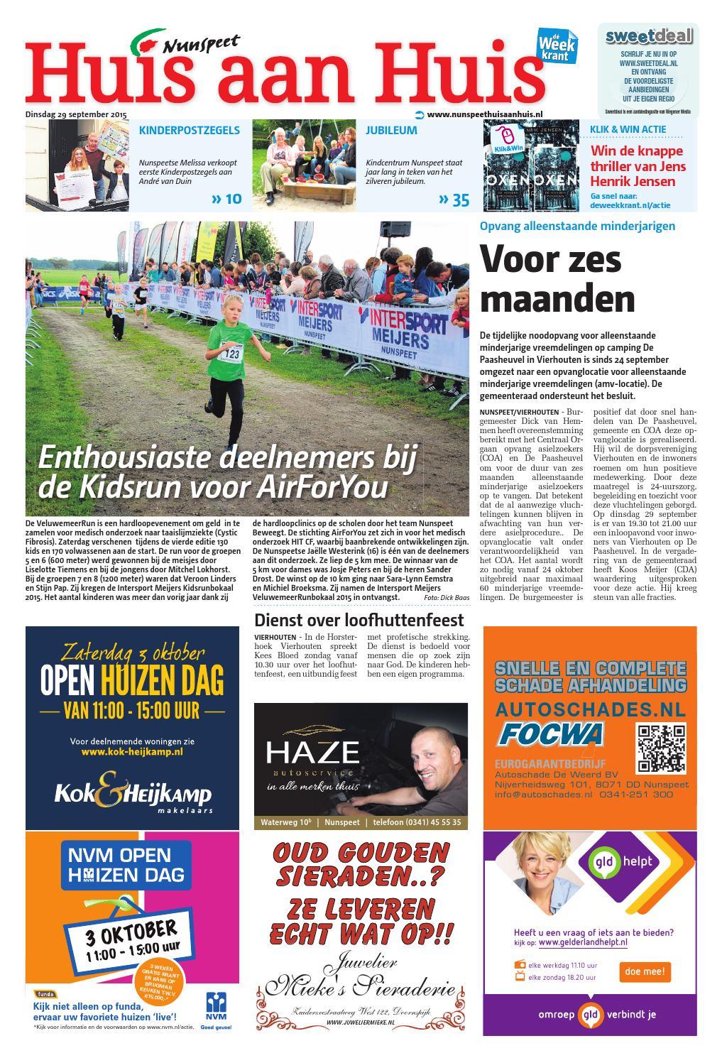 Nunspeet Huis-aan-Huis week40 by Wegener - issuu