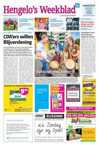 97fdfcf094e Hengelo s Weekblad week40 by Wegener - issuu