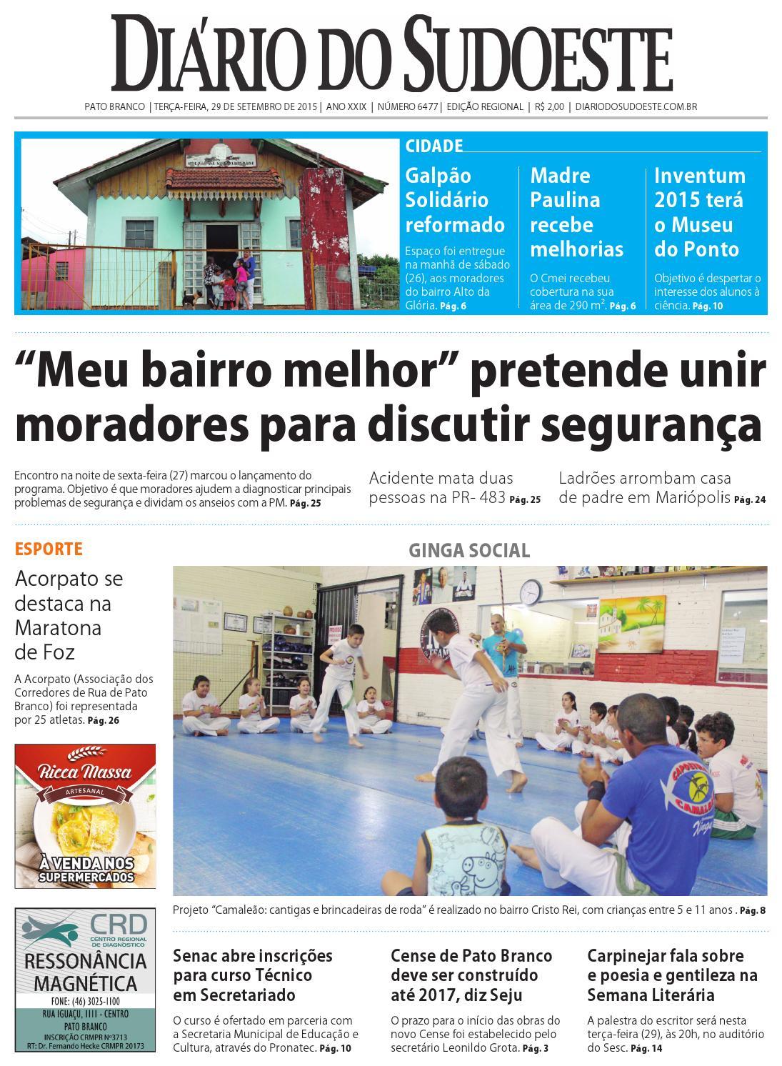 6fe08c39f4d9e Diário do sudoeste 29 de setembro de 2015 ed 6477 by Diário do Sudoeste -  issuu