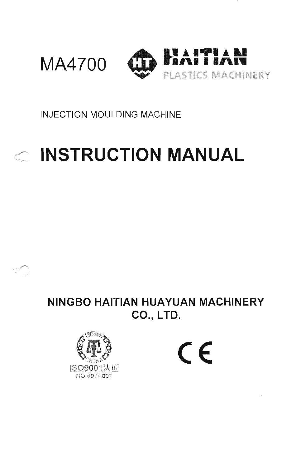 Haitian MA4700 Instruction Manual by Turan Ozzeybek - issuu