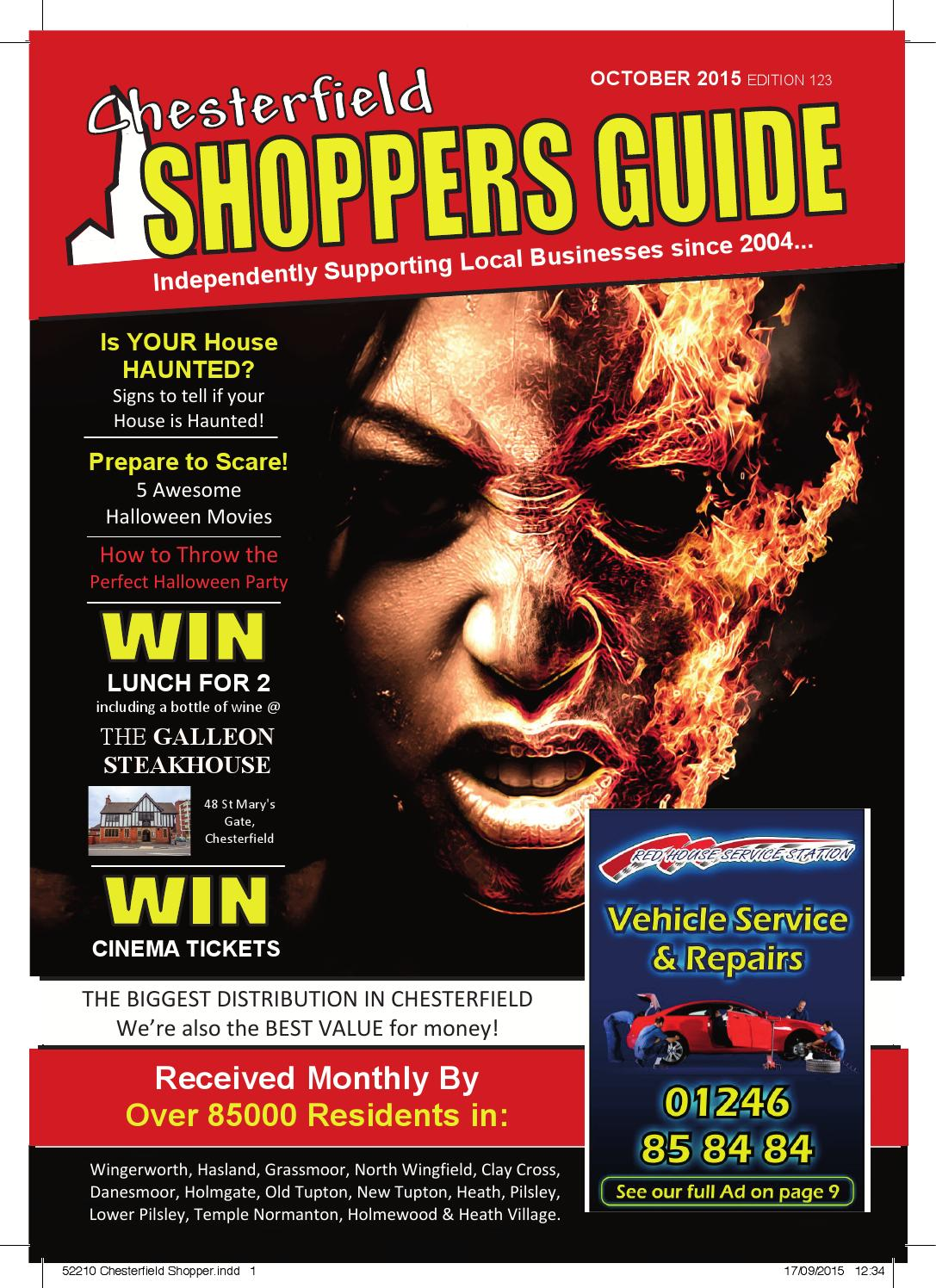 a39f432e3c0fb Chesterfield Shoppers Guide October Edition 2015 by Shoppers Guide - issuu
