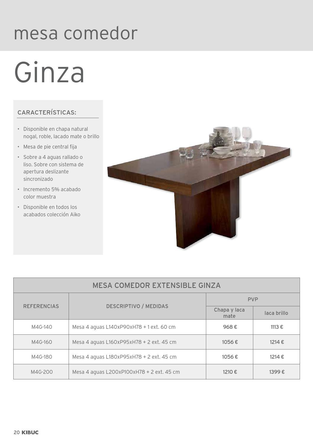 Kibuc Catalogo Tarifa Mesas Y Sillas 2015 By Kibuc Issuu