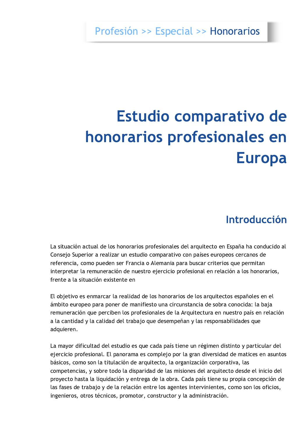 Bolet n digital cscae n 8 by consejo superior de colegios - Trabajo para arquitectos en espana ...
