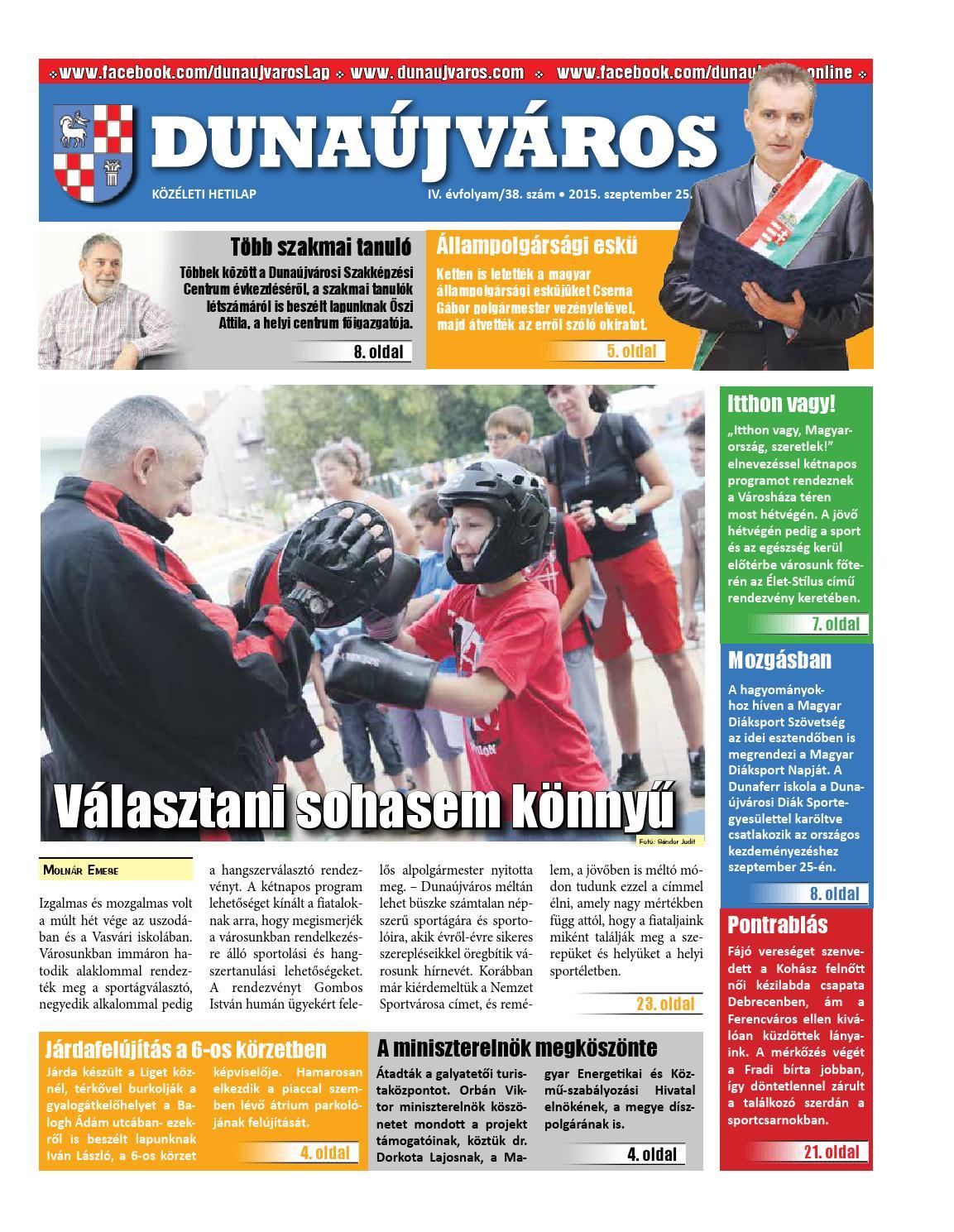 Dkh 2015 09 25 by Dunaújváros Közéleti Hetilapja - issuu e37ca9239f
