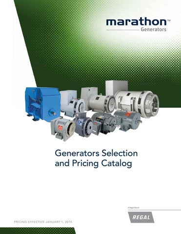 Marathon Generator Selection and Pricing Catalog by Tencarva Machinery  Company - issuuIssuu